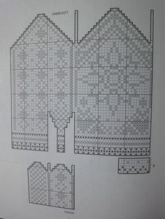 Crochet Mittens Free Pattern, Knit Mittens, Mitten Gloves, Knitting Socks, Knitting Charts, Knitting Patterns, Filet Crochet, Knit Crochet, Scandinavian Pattern