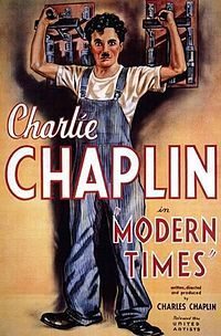 Directed by Charles Chaplin. With Charles Chaplin, Paulette Goddard, Henry Bergman, Tiny Sandford. The Tramp struggles to live in modern industrial society with the help of a young homeless woman. Paulette Goddard, Charlie Chaplin Modern Times, Charlie Chaplin Movies, Film Gif, Film Serie, Comedy Film, Classic Movie Posters, Classic Movies, Old Movies