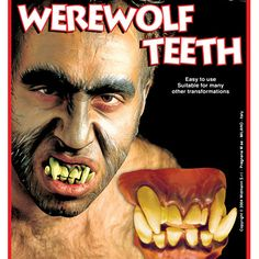 Dentadura de Hombre Lobo #dentadurasdisfraz  #accesoriosdisfraz #accesoriosphotocall