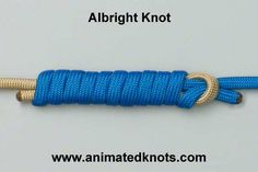 Albright Knot. Used for joining fishing lines of diff rent diameter such as a leader line.