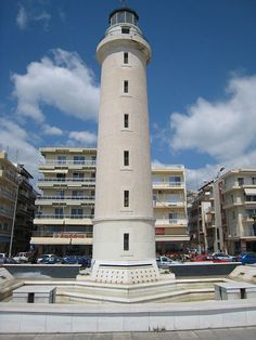 City landmark: The Lighthouse of Alexandroupoli, Evros, Greece
