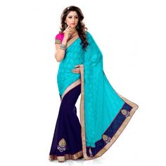 Designer Bollywood Indian Traditional Partywear Saree Price:-Rs. 1199 http://www.craftsvilla.com/catalog/product/view/id/1589319/s/designer-bollywood-indian-traditional-partywear-saree-online-shopping-for-designer-sarees-by-sourbh-sarees/