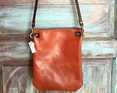 COWHIDE Leather bag // Small Leather handbag // Brown Leather Leather Crossbody Bag, Leather Handbags, Cowhide Leather, Brown Leather, Small Leather Bag, Boho Bags, Small Bags, Leather Craft, Tote Bag