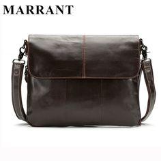 e6f6fe6928f2    24.79   MARRANT Genuine Leather Men Bags Men s Crossbody Bag New Travel Bag  Male Messenger