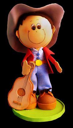 El Rincon Fofuchero: Fofucho Cantante con moldes