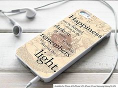 happiness quote harry potter for iPhone 4 case, iPhone 5 case, Samsung Galaxy s3 and Samsung galaxy s4 case on Etsy, $14.99