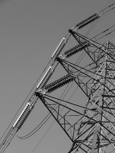 Electricity Pylons - Detail.