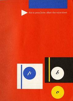 Ladislav Sutnar | Mid-Century Modern Graphic Design