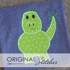 Stegosaurus 2 Applique - 3 Sizes! | What's New | Machine Embroidery Designs | SWAKembroidery.com Original Stitches
