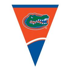 Creative Converting University of Florida Plastic Flag Banner 105Feet >>> See this great product. (This is an affiliate link)