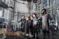 "Announcing winner of D2W battle of 3rd and 4th place of NISC 2017 Nordic Indoor Skydiving Championships ""Ragnarök""."
