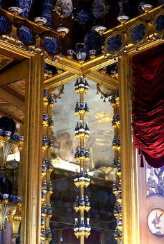 Berlin, Schloss Charlottenburg, Porzellankabinett (Charlottenburg Palace, porcelain cabinet) by HEN-Magonza, via Flickr