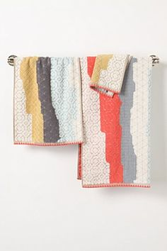 Anthropologie - Sechura Towels - £6.00 - £36.00 #home #bathroom #towels