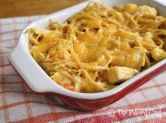 Easy Cheesy Chicken Spaghetti - Super #easy dinner #recipe!