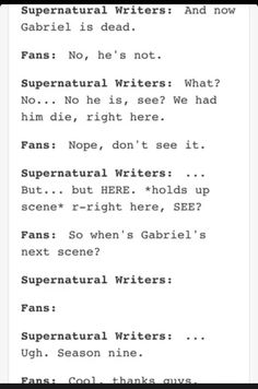 The power of the Supernatural fandom :D