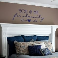 Love the mantle headboard idea. This would be around $150 (if purchase the kit from Lowes) - not bad for a neat headboard.