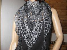 Dreiecktuch, Stola, Dreieckstuch, Merino, Lace von IDS-Style auf DaWanda.com