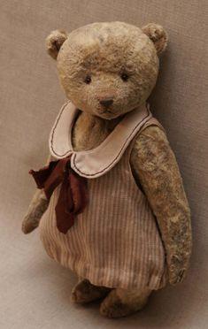 artist teddy bear by Hypatia