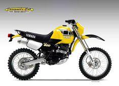 - by Oberdan Bezzi Yamaha Xt 600, Motos Yamaha, Honda Cbr 600, Scrambler Motorcycle, Motorcross Bike, Ducati Pantah, Ducati Supersport, Motorcycle Design, Motorcycle Style