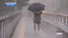 중부 한 시간에 '30㎜ 장대비'…내일도 많은 비