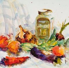 Artist: Donna Fratesi specializes in Acrylic and Watercolor artwork. Her paintings are rich and colorful, and at the same time peaceful.