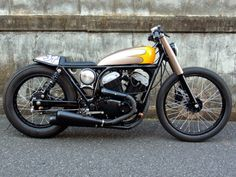 Yamaha SRV250 Brat Style by Wedge #motorcycles #bratstyle #motos | caferacerpasion.com