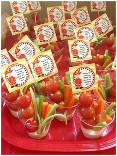 Sizzling Firetruck Birthday Party