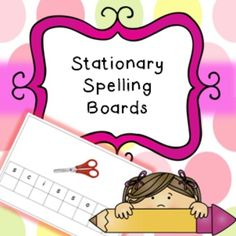 Spelling boards related to stationery. I recommend printing two copies of each, cutting out the letters on one of them and then having the pupil place in correct order/position. Includes; brush, glue, paint, pencil, rubber, ruler, scissors. Instructions; Print two copies of each page.