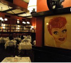 Opening Night:  Sardi's Restaurant, Times Square