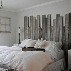 If I attempted this it would look like a back alley broken down fence... in my bedroom... smh
