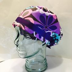 A personal favorite from my Etsy shop https://www.etsy.com/listing/289159391/surgical-hat-or-scrub-cap-european-with