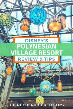 Polynesian Resort 101 - Tips & Impressions - Disney Deciphered Disney World Vacation Planning, Disney Destinations, Disney Vacation Club, Disney World Parks, Walt Disney World Vacations, Disney Travel, Trip Planning, Polynesian Village Resort, Disney Polynesian Resort