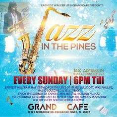 #GoodTimes #GoodPeople #GoodMusic Every Sunday at 6pm. 12389 Pembroke Road, Pembroke Pines, FL 33025