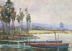 Dunbar Sloane - Wellington-Lake Kaniere Artist Biography, Art Auction, Paintings, Artwork, Image, Work Of Art, Paint, Auguste Rodin Artwork, Painting Art
