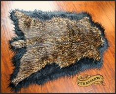 NO ONE MAKES RUGS LIKE FURACCENTS.COM! THIS DEER SKIN THROW MADE FROM FAUX FUR IS IN CREDIBLE! BE KIND TO ANIMALS ALWAYS BUY FAUX!