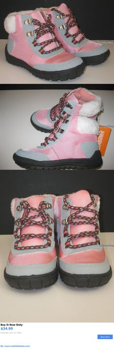 Children girls clothing shoes and accessories: Gymboree Polar Pink Boots Size 11 New Snow Ankle Lace Up Girls Winter Booties BUY IT NOW ONLY: $34.99 #ustylefashionChildrengirlsclothingshoesandaccessories OR #ustylefashion