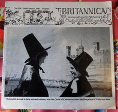 Vtg BRITANNICA in Conjunction w/ Britannia & Wilson College MAGAZINE #154, 1962