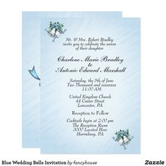 Blue Wedding Bells I