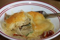Cookin' with Super Pickle: Classy Chicken Casserole with Biscuit Topping