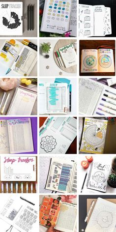 So many bullet journal sleep trackers to try - including circle ones! Keeping A Bullet Journal, Bullet Journal Tracker, Bullet Journal Hacks, Bullet Journal Layout, Best Planners, Journal Pages, Journal Ideas, Mood Tracker, Planner Organization