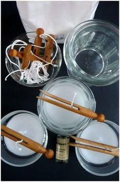 Comment fabriquer des bougies ? http://chezpatinesetcie.canalblog.com/archives/2012/03/25/23850660.html