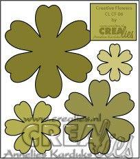 Creative Flowers stans no. 6 / Creative Flowers die no. 6
