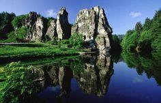 Externsteine Horn,Bad Meinberg, Teutoburger Wald