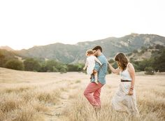 Fine art family photography by The Why We Love | The De Jauregui Family | 100 Layer Cakelet...love this, with family holding hands...on a bear hunt.