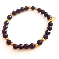 Grounding and Stability / Erdung und Stabilität 6mm via Jai! Jewellery. Click on the image to see more! Gemstone Bracelets, Stability, Beaded Necklace, Change, Jewellery, Gemstones, Beaded Collar, Jewels, Pearl Necklace