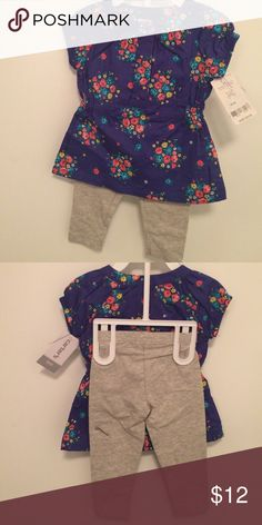 BNWT Carters 2pc set outfit. Size 6mos Very cute matching outfit from Carters. Size 6mos. BNWT Matching Sets