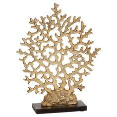 Gold Coral Decor  at Joss and Main