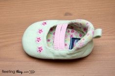 fleeting thing » The Mila baby shoe pattern and tutorial