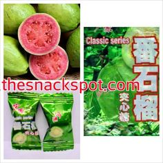Delicious Chinese guava hard candy available at www.thesnackspot.com many other exotic flavors also available #yum #yummy