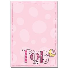 Gamma Phi Beta Sorority Notepad $4.95